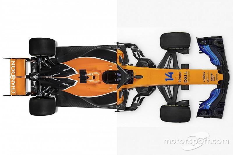 Komparasi mobil F1: McLaren MCL32 vs McLaren MCL33