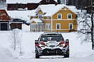 WRC WRCスウェーデン:トヨタ1-2を占め、初日を好発進。オジェは9番手