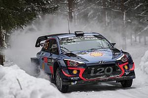 WRC Etappeverslag WRC Zweden: Neuville nipt aan de leiding