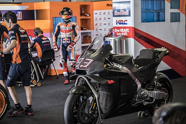 MotoGP Actualités Márquez teste une évolution de la Honda et y voit du positif