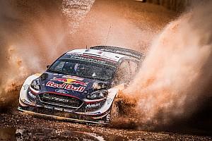 WRC Leg report Italy WRC: Ogier leads Neuville, Mikkelsen out