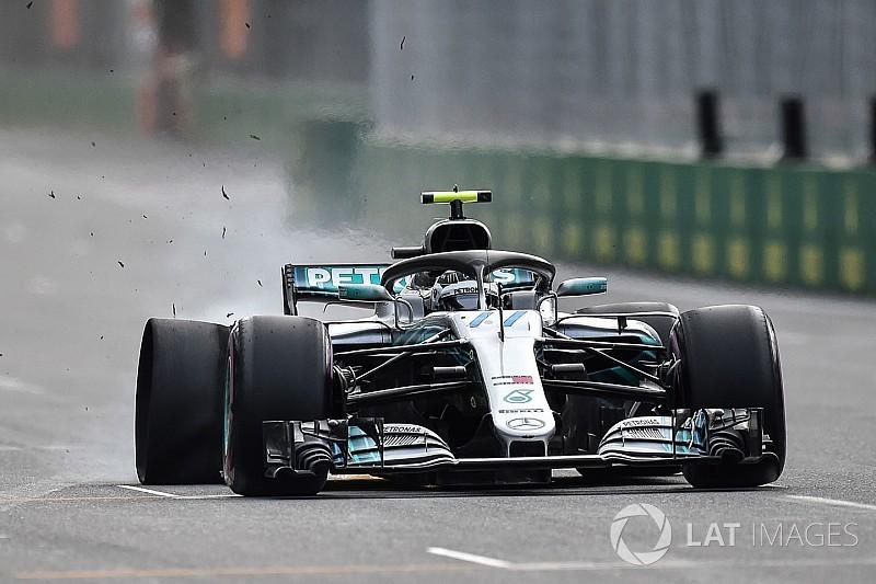 FIA didn't know about debris Bottas hit in Baku