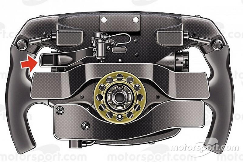 Vettels Ferrari-Lenkrad: Wofür ist der ominöse Zusatzhebel?