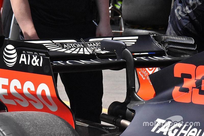 A Red Bull megmutatta, milyen egy minimalista hátsó szárny