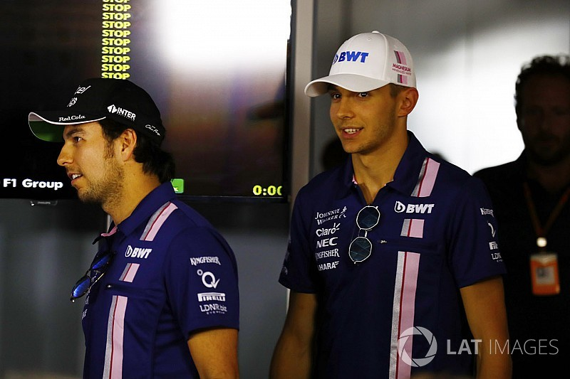 """Force India diz que """"fará de tudo"""" para manter Pérez e Ocon"""