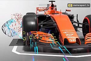 Формула 1 Спеціальна можливість Відео: секрети повітряних потоків навколо машини Ф1
