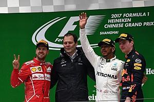 2017 Çin GP - Hamilton kazandı, podyum renklendi!