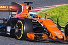 New McLaren completes first run at Barcelona