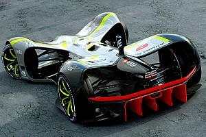 Roborace Top List Gallery: Roborace unveils 'Robocar' autonomous racer