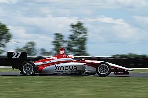 Indy Lights Crónica de Carrera Jamin aprovecha y se lleva Carrera 2 en Mid-Ohio