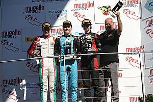 Formula 4 Gara Job Van Uitert si aggiudica Gara 3 al Mugello