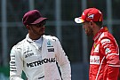 Hamilton more composed than Vettel, says Ricciardo