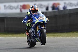 MotoGP Breaking news Rins mengaku sudah pulih sepenuhnya dari cedera