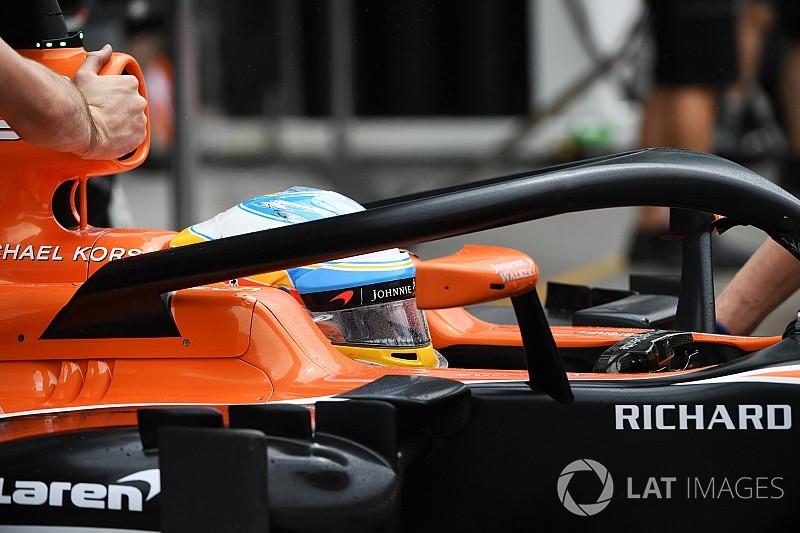 Formula 1'in halo testleri