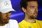 Palmer az interneten tudta meg, hogy a Renault megszabadulna tőle
