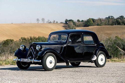 Citroën Traction Avant: el 'coche del futuro' en los años 30
