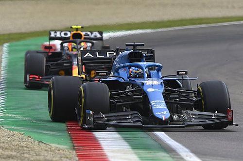 """Alonso leert veel op Imola: """"Vertrouwen met 300 procent gegroeid"""""""