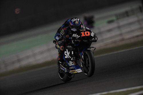 Marini 'vergat bijna' dat hij circuit deelde met halfbroer Rossi