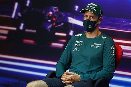 Vettel bautiza su Aston Martin de F1 con el nombre de una chica Bond
