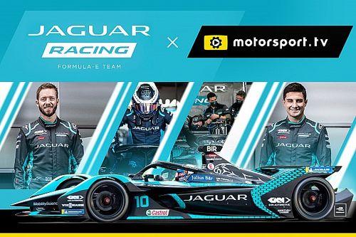 Jaguar traz fãs para dentro do mundo da Fórmula E com canal próprio na Motorsport.tv