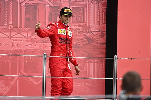Binotto celebra el podio de Sainz pero lamenta el resultado de Leclerc