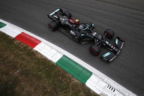 Bottas set for back of grid start at Monza after engine change