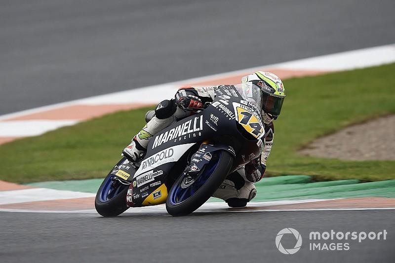 Tes Moto3 Jerez: Arbolino unggul tipis atas Garcia-Rodrigo