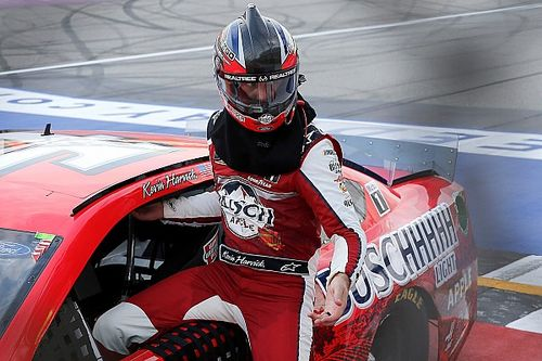 Kevin Harvick holds off Keselowski in OT for Michigan Cup win