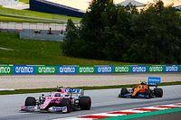 Racing Point jednymi z najszybszych