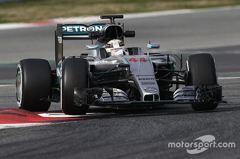 "Hamilton says move towards heavier F1 cars is ""ridiculous"""