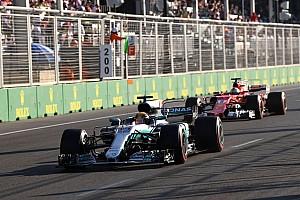 Formule 1 Actualités Hamilton: Le geste de Vettel montre que Ferrari a la pression