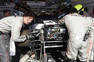 Le Mans Son dakika Hartley: Porsche, Le Mans zaferini mühendislerine borçlu