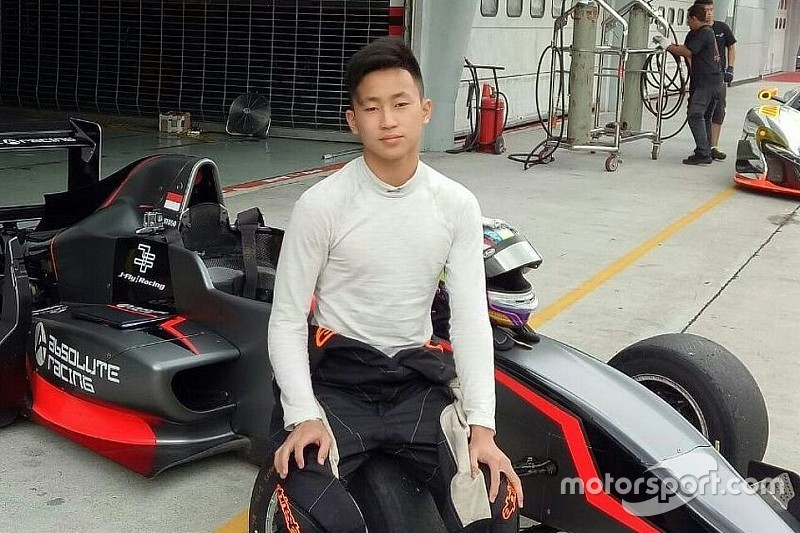 Awal positif Keanon Santoso kemudikan mobil Formula Masters