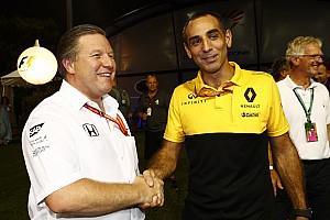 Formula 1 Son dakika McLaren, Renault'nun motor performansına güveniyor