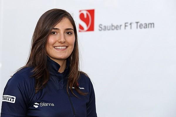 Sauber assina com Tatiana Calderón