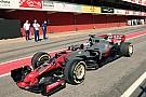 Fórmula 1 Novo carro da Haas é flagrado durante shakedown na Espanha