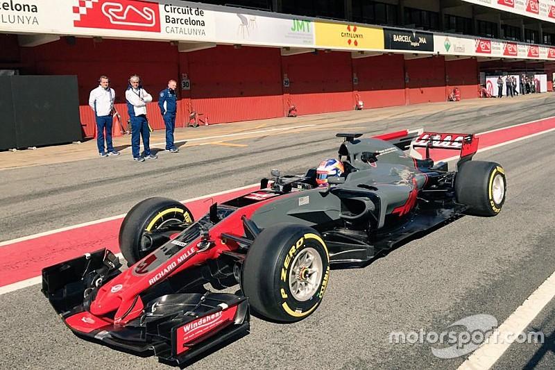 Anteprima Haas VF17: ecco la prima foto della