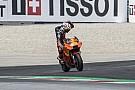 MotoGP KTM home race retirement leaves Espargaro