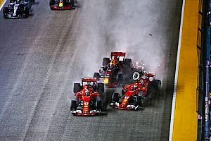 فورمولا 1 تعليق رأي: على من يقع اللوم في حادثة انطلاقة سباق سنغافورة؟