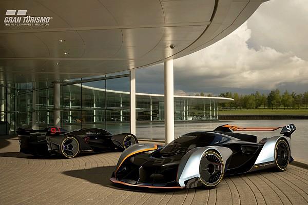 Virtual Breaking news McLaren Ultimate Vision Gran Turismo: Visi supercar 2030