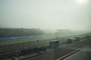 Los entrenamientos, suspendidos por la niebla