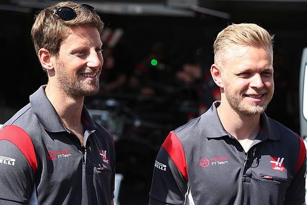 Dono da Haas confirma de Grosjean e Magnussen para 2018