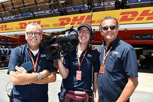 My job in F1: The TV cameraman