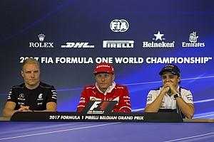Formula 1 Press conference Belgian GP: Thursday's press conference