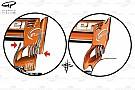 Formula 1 Analisi tecnica: la McLaren lavora per aumentare la downforce posteriore
