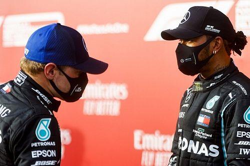 """Hamilton pede respeito: """"Tem outro piloto com o mesmo carro que não chega onde estou"""""""