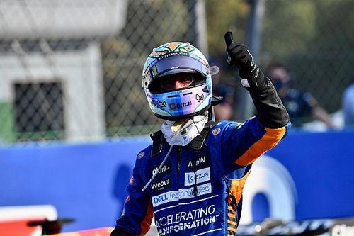 """Ricciardo gana el """"Piloto del Día"""" del GP de Italia F1"""