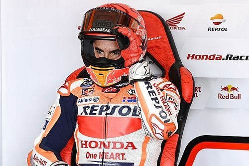 """Marc Marquez """"not enjoying"""" riding in MotoGP right now"""