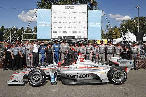 """Power says it's """"surreal"""" to see his name with IndyCar idols"""