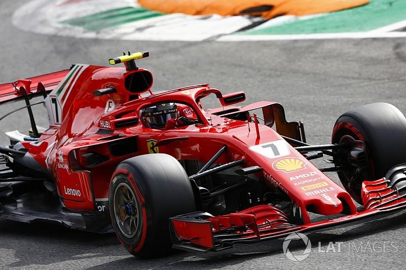 Fotogallery: le qualifiche del GP d'Italia e la pole da record di Kimi Raikkonen